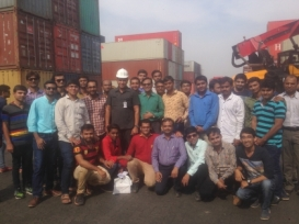 Mundra Port Visit- 26th Nov, 2015